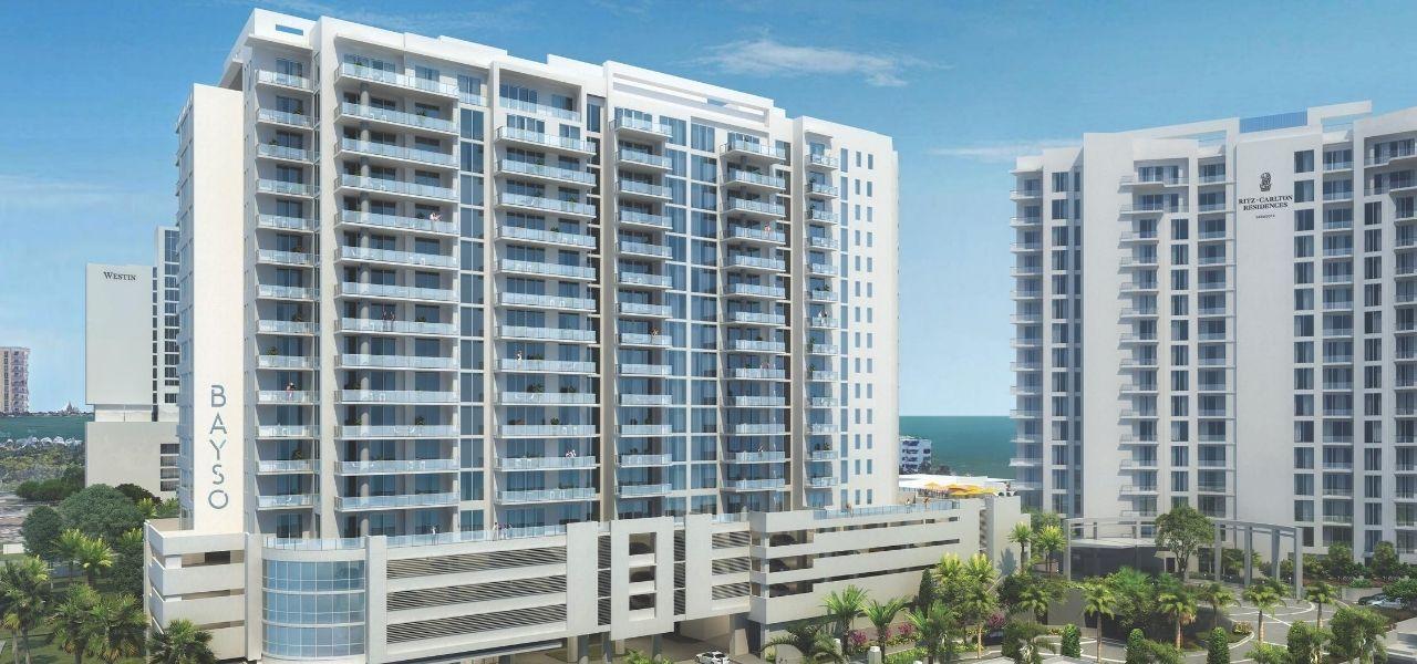 Rendering of Bayso, New Construction Condo, Sarasota