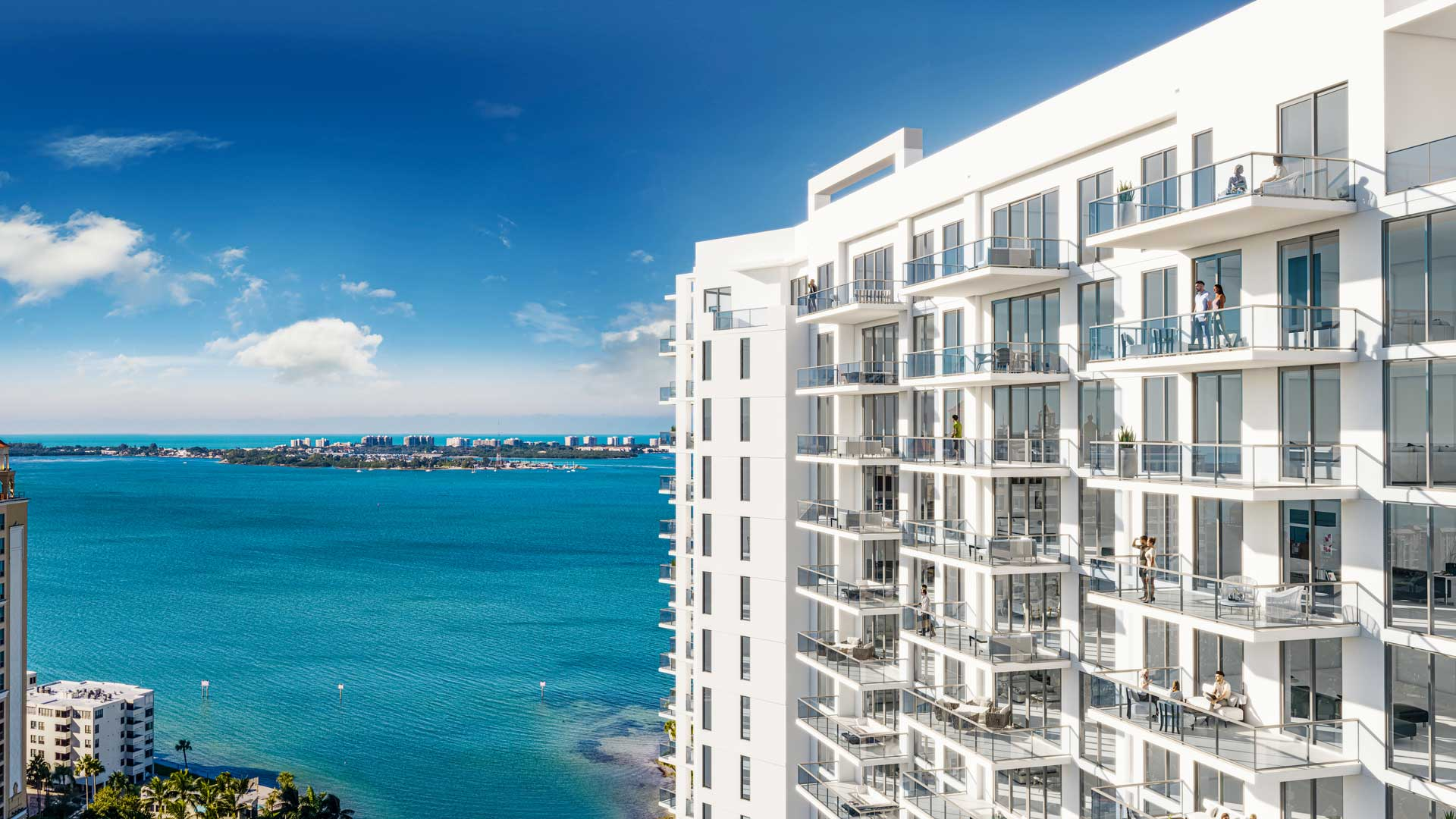 Bayso Sarasota View | Artist's Rendering