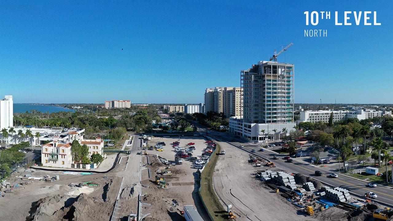 Bayso Sarasota - 10th Level North View