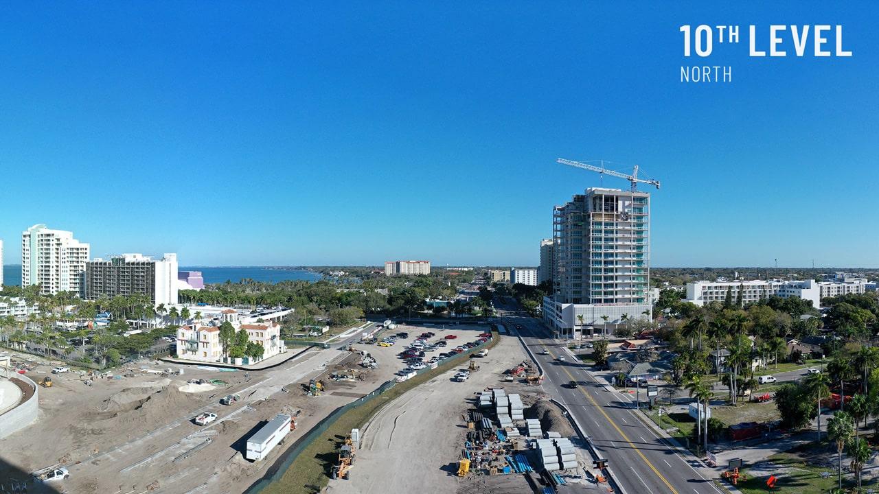 Bayso Sarasota - 10th Level Northeast View