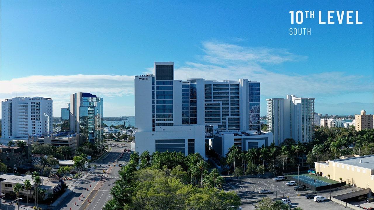Bayso Sarasota - 10th Level South View