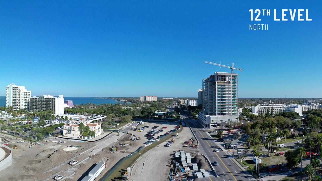 Bayso Sarasota - 12th Level Northeast View
