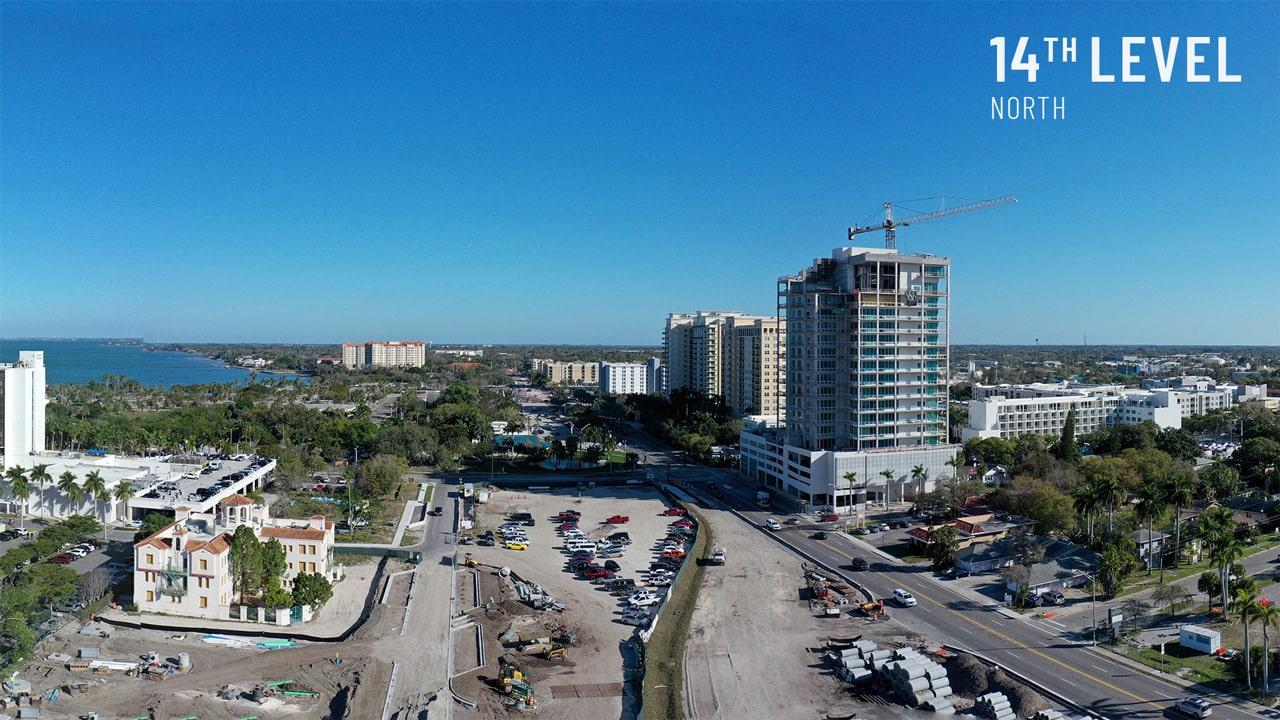 Bayso Sarasota - 14th Level North View