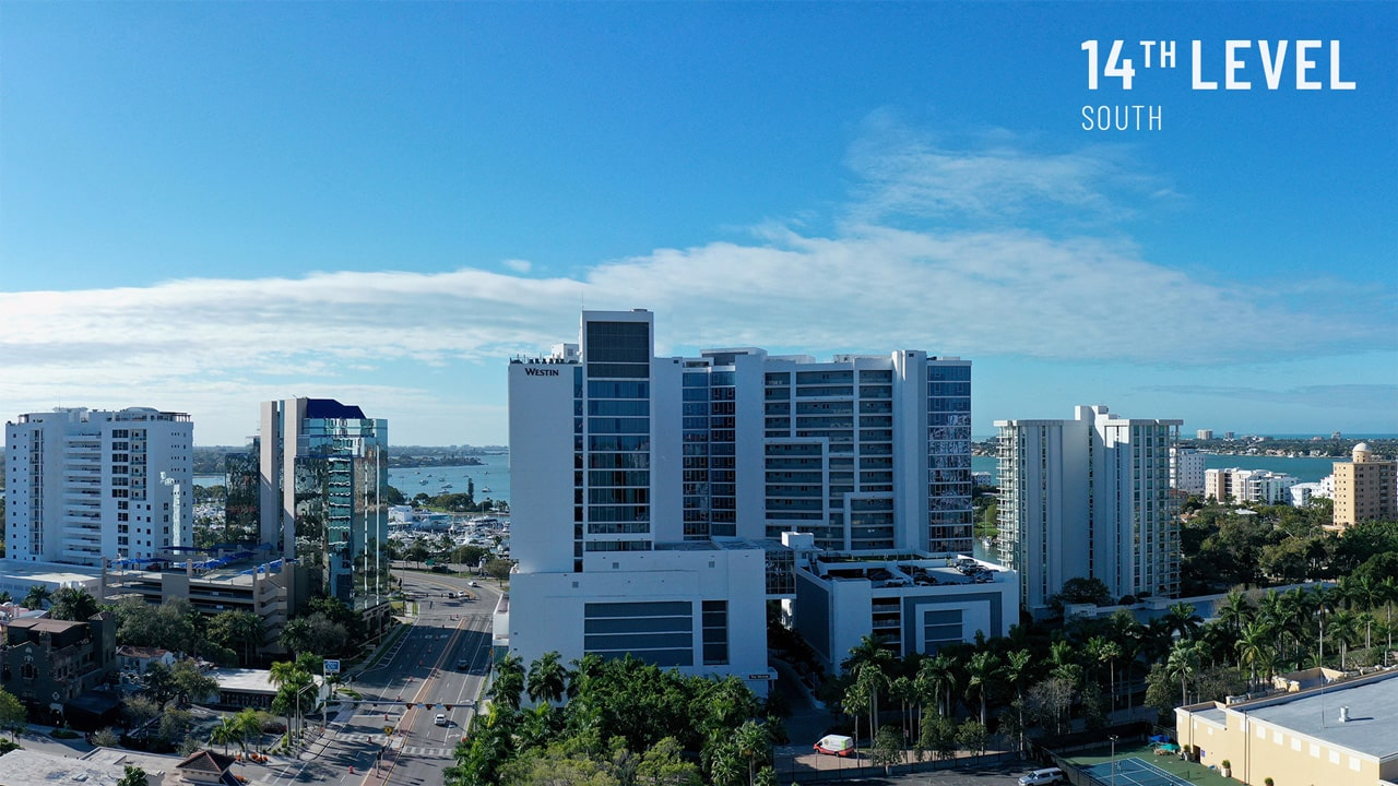 Bayso Sarasota - 14th Level South View