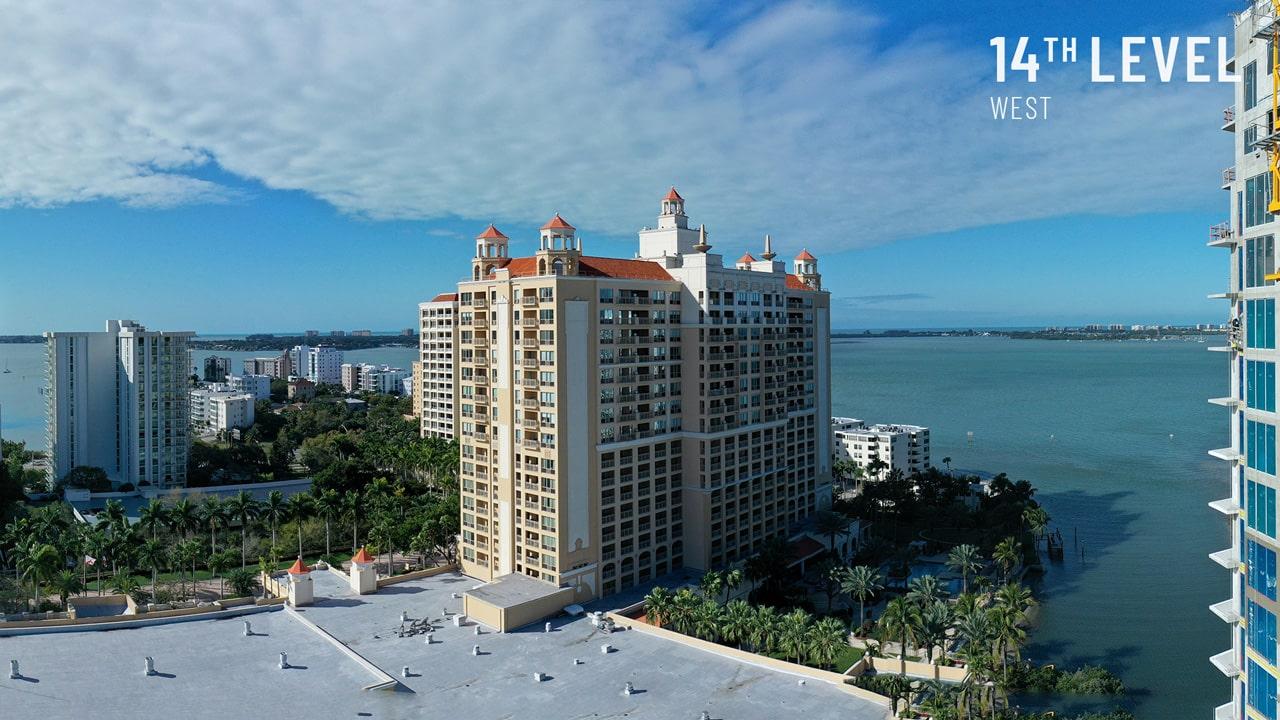 Bayso Sarasota - 14th Level West View