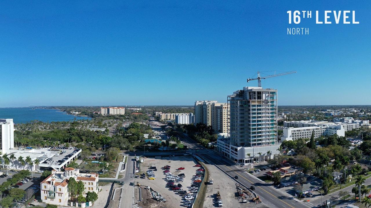 Bayso Sarasota - 16th Level North View