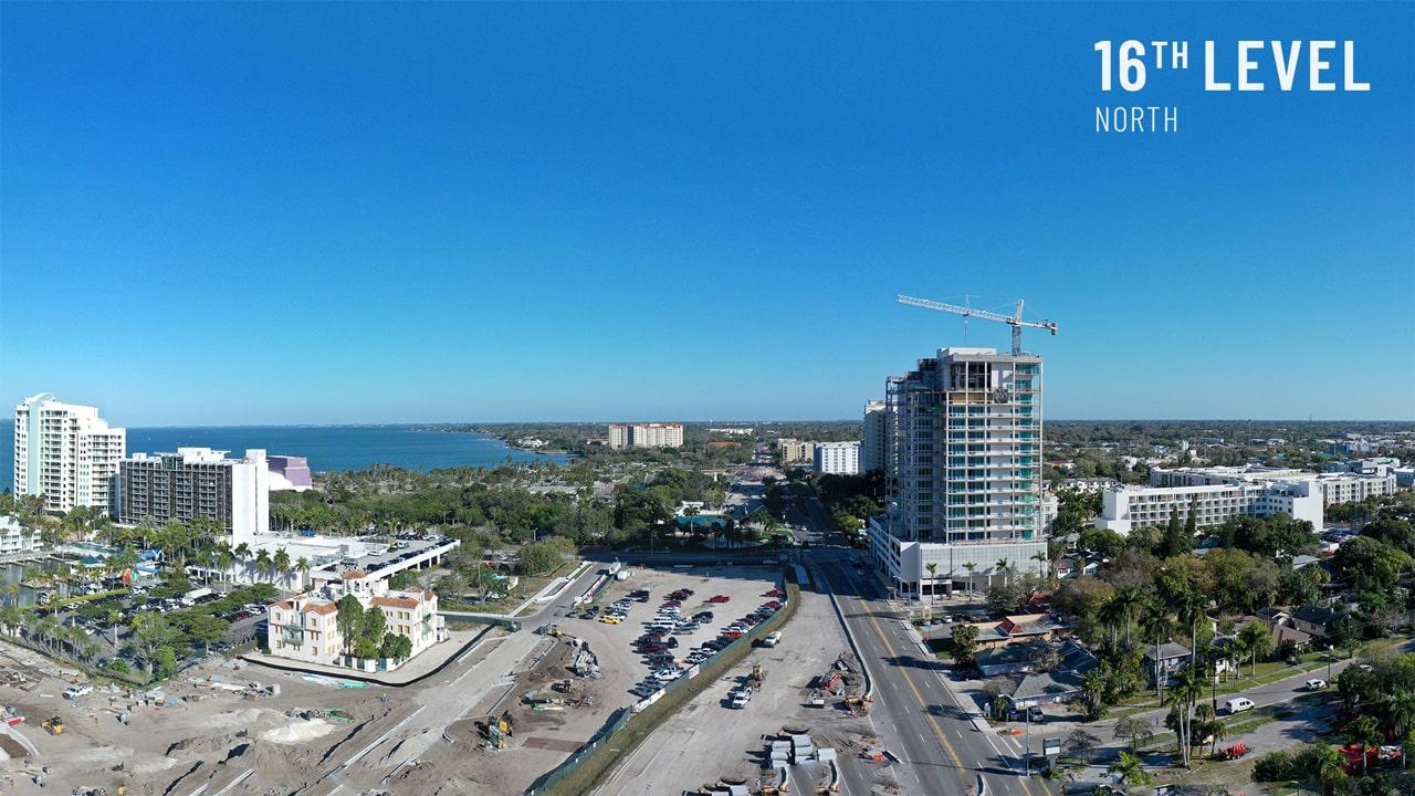 Bayso Sarasota - 16th Level Northeast View
