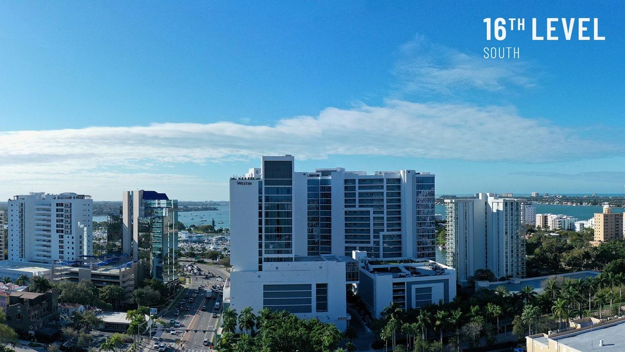 Bayso Sarasota - 16th Level South View