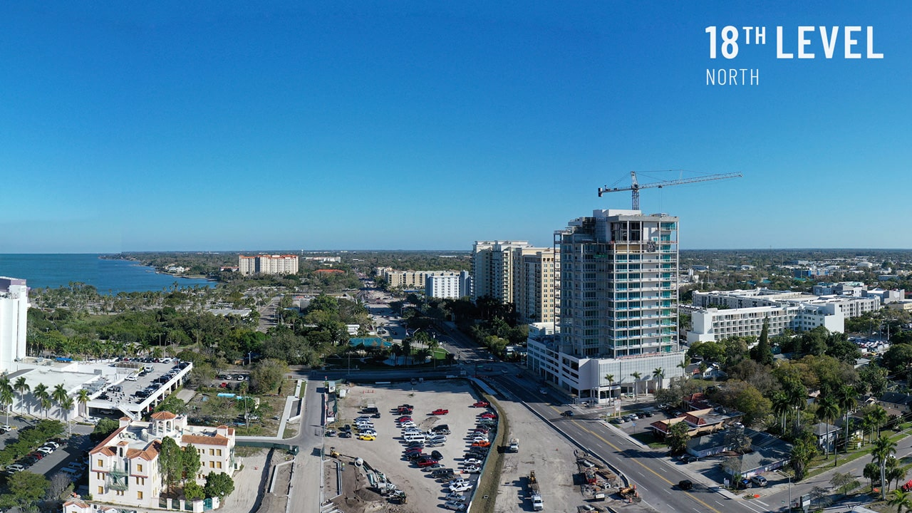 Bayso Sarasota - 18th Level North View