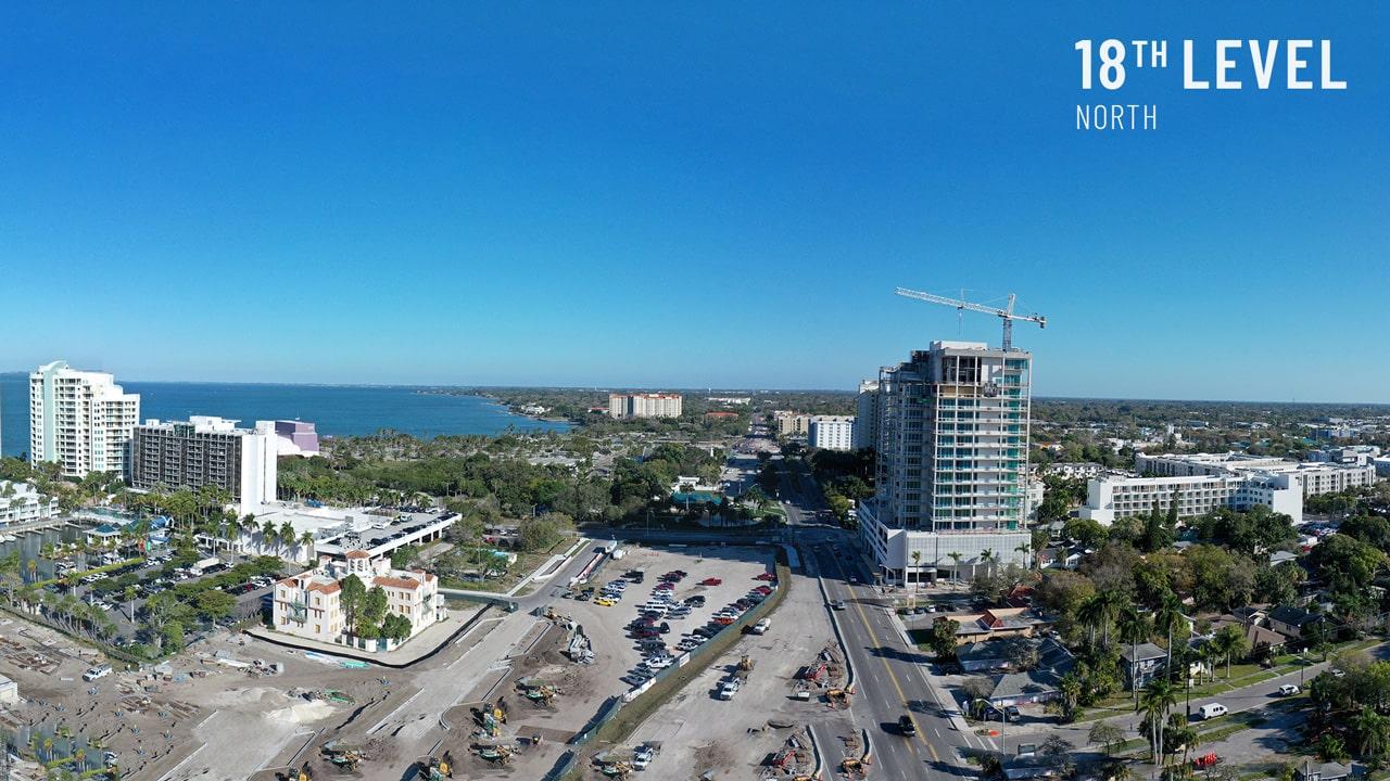 Bayso Sarasota - 18th Level Northeast View