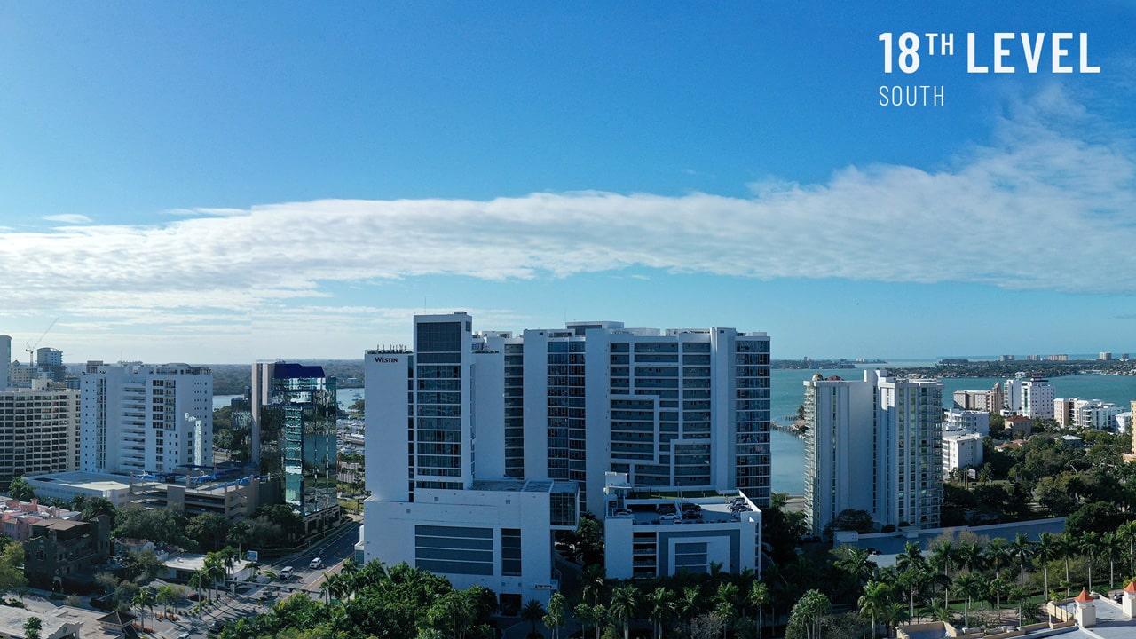 Bayso Sarasota - 18th Level South View