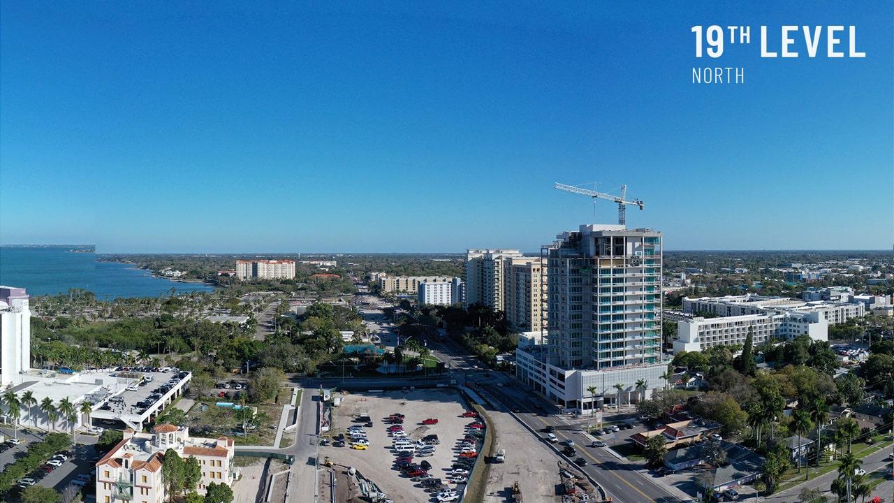 Bayso Sarasota - 19th Level North View