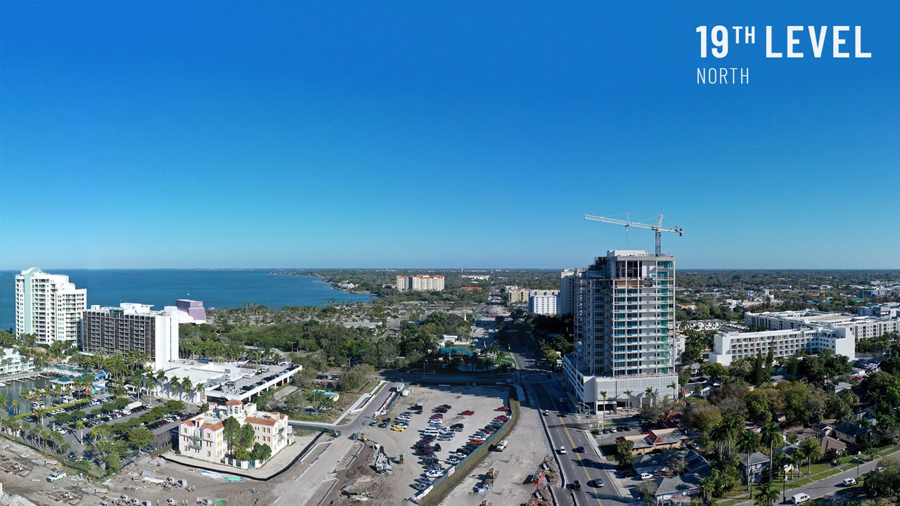 Bayso Sarasota - 19th Level Northeast View