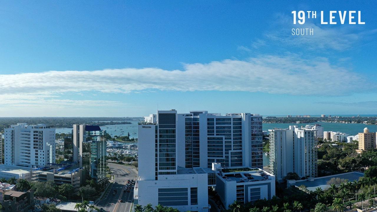 Bayso Sarasota - 19th Level South View
