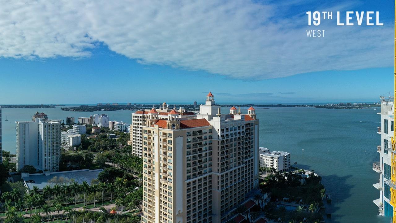 Bayso Sarasota - 19th Level West View