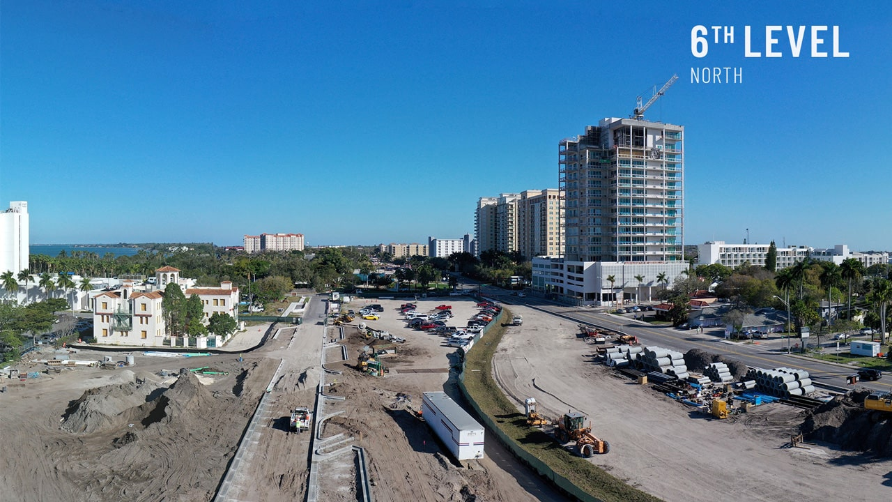 Bayso Sarasota - 6th Level View North