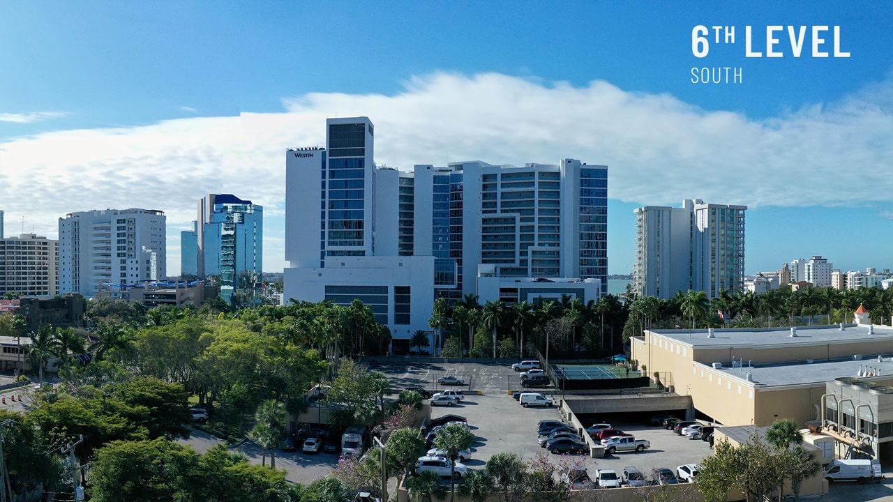 Bayso Sarasota - 6th Level View South