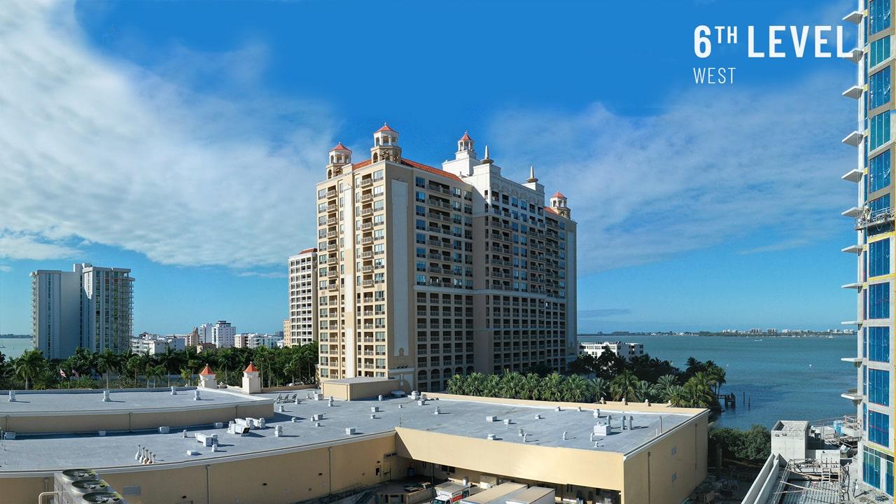 Bayso Sarasota - 6th Level West View