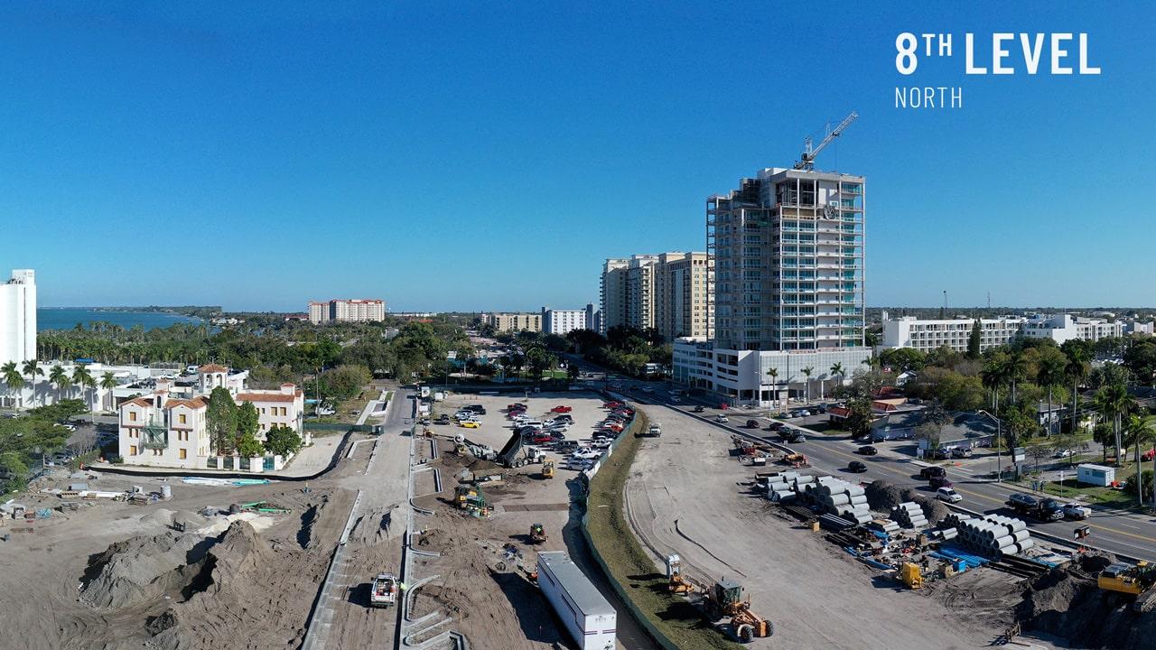 Bayso Sarasota - 8th Level North View