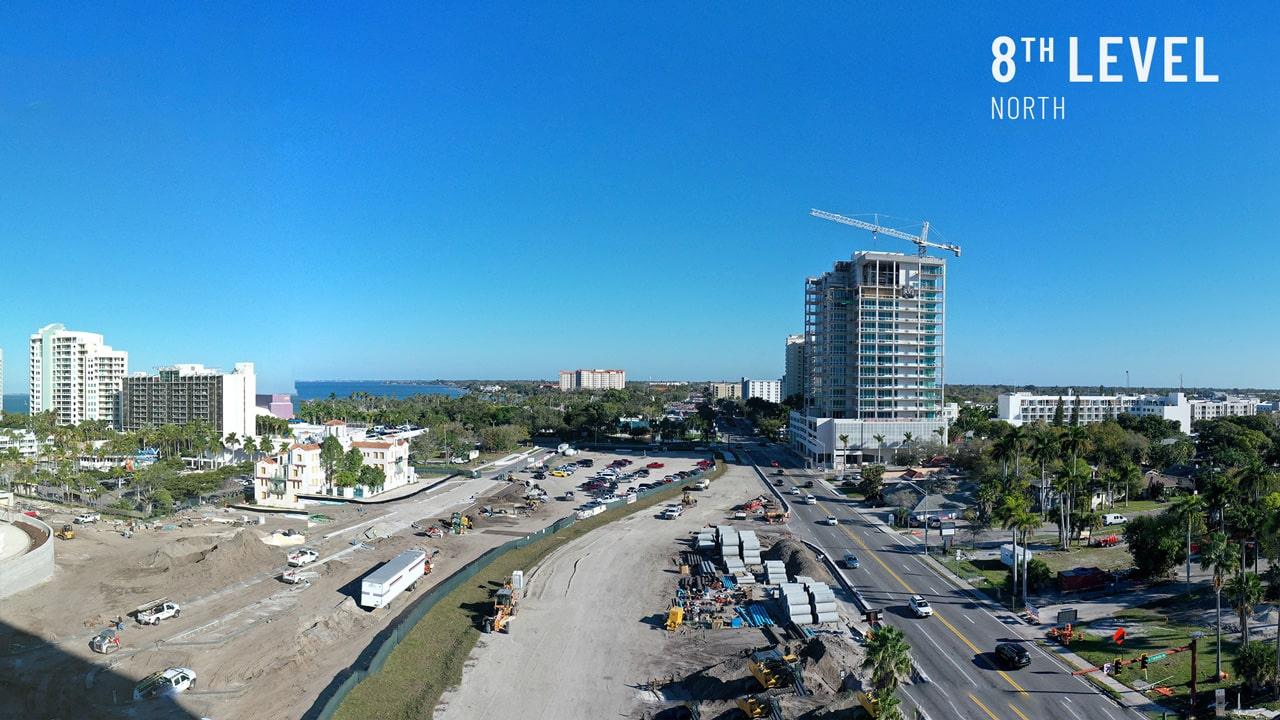 Bayso Sarasota - 8th Level Northeast View