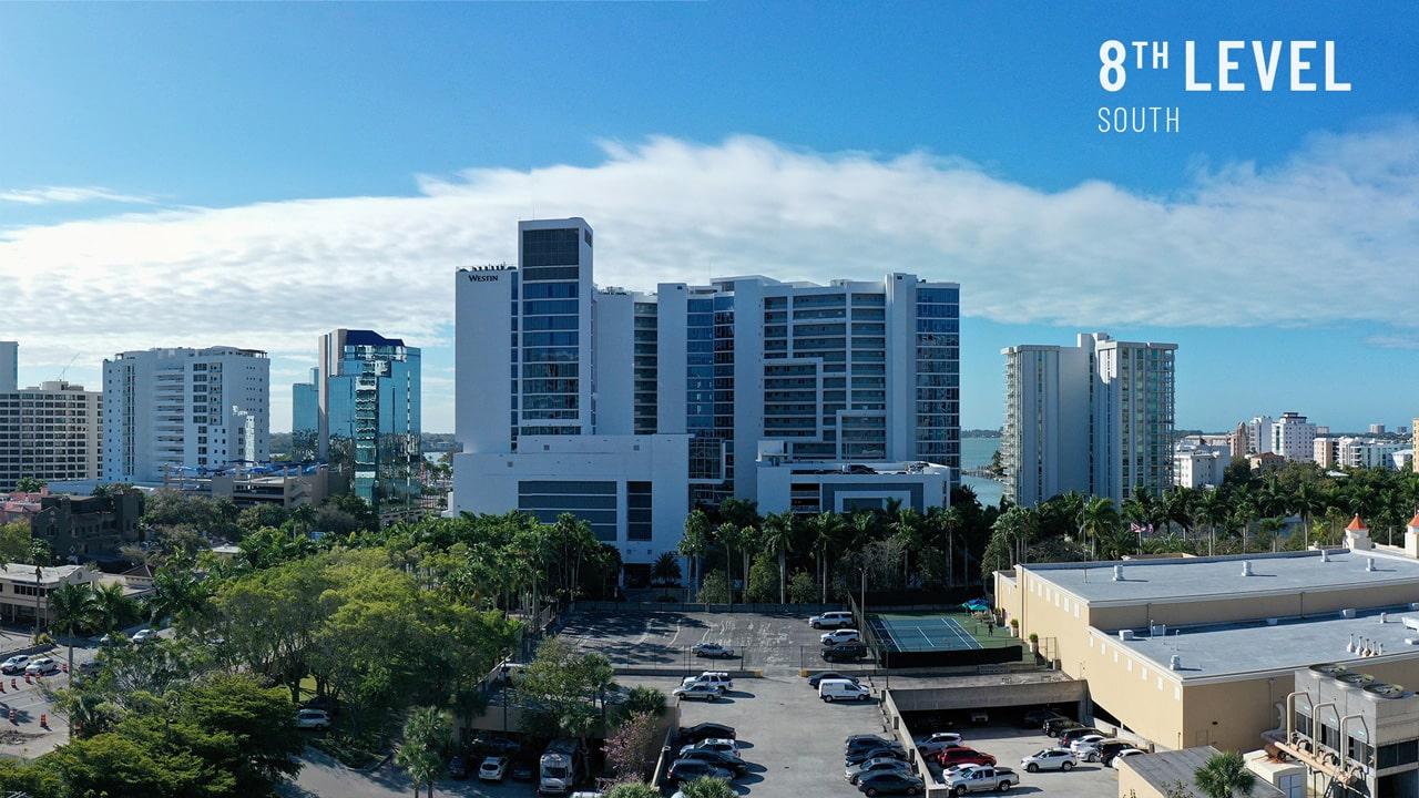 Bayso Sarasota - 8th Level South View