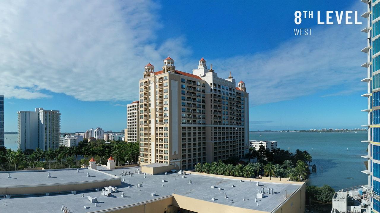 Bayso Sarasota - 8th Level West View